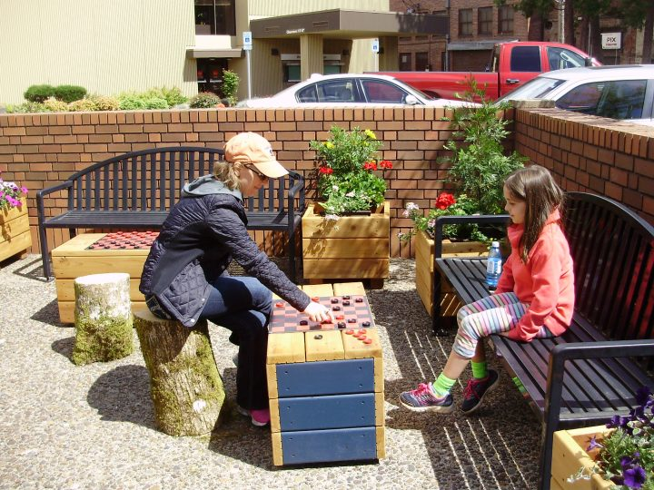 Downtown Albany Parklets